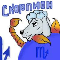 Гороскоп для собак - Скорпион