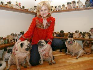 Квартира Дарьи Донцовой: Собаки, оставьте немного места и для хозяйки!