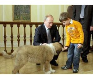 Путин выбрал имя для собаки, подаренной ему премьером Болгарии