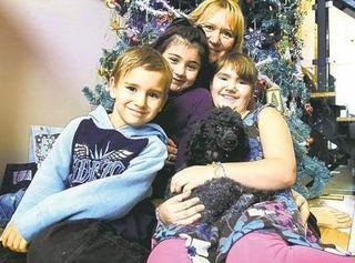 Потерянный пудель вернулся к канадской семье