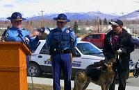 Овчарка привела спасателей к охваченному огнем дому (США)