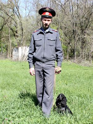 В Краснодаре милицейские собаки показали, как могут работать