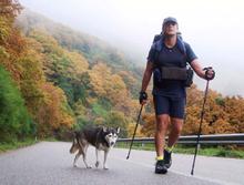 Итальянец прошел пешком более 40 тысяч километров вместе с собакой