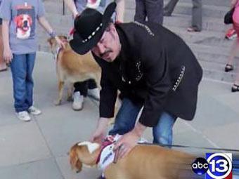На пост губернатора Техаса выдвинули собаку