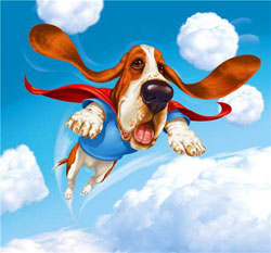Собака, которая хотела летать (сказка 12-летней девочки)