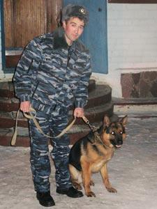 В Башкирии служебная овчарка спасла жизнь инспектору