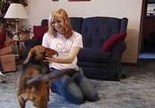 Девушка-подросток отказалась от машины ради спасения раненой собаки