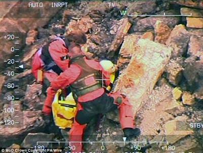 Мужчина упал с 60 метров, спасая своего пса, и чудом остался жив