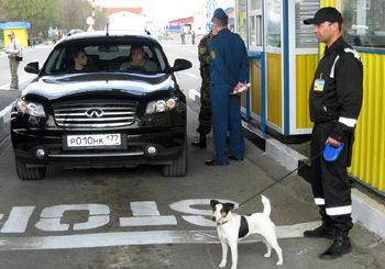 Границы на Евро будут охранять более 1 тыс. собак (Украина)