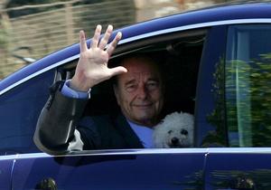 Болонку Жака Ширака не пустили в казино