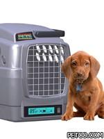 Новая переноска для собак, оснащённая климат-контролем