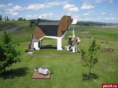 В США построили гостиницу-собаку