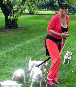 «Собачьи» тренировки Мэрайи Кэри