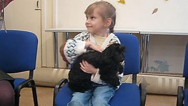 Канистерапия для детей с функциональными ограничениями набирает обороты (Вологда)