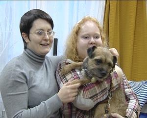 В Калининграде на помощь детям с ограниченными возможностями пришли любители собак