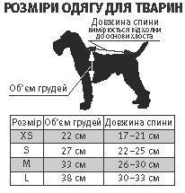 На передние лапы собак нужна обувь меньшего размера (Киев)