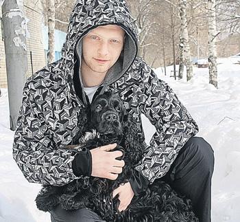 Собака спасла друга своего хозяина (Саратов)