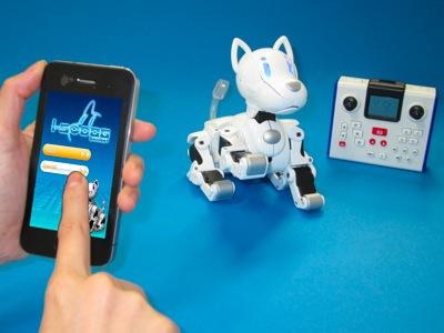 Новая модель электронной собаки (Япония)