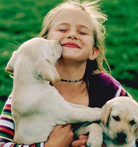 Ребёнка от болезней спасёт собака (Финляндия)