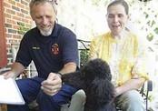 Собака во время утечки газа спасла слепую хозяйку от смерти
