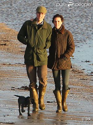 Принц Уильям подарил супруге щенка