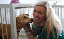 Немецкая принцесса проверила отношение к бездомным животным в Киеве