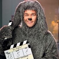 Максим Аверин (Глухарь) в роли собаки